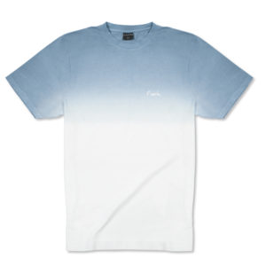 Degraded Tee - Blue-Pearl