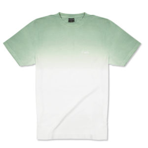 Degraded Tee - Green-Pearl